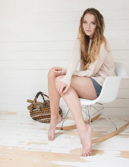 Eloise Merino Sweater - Blush
